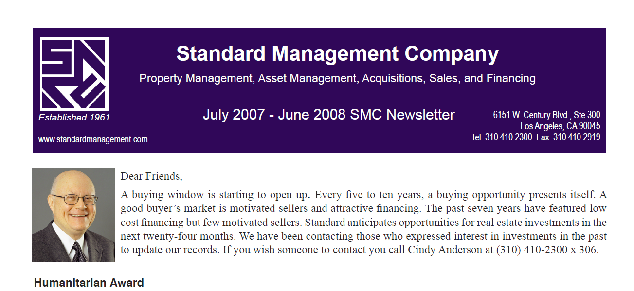 2008 SMC Newsletter