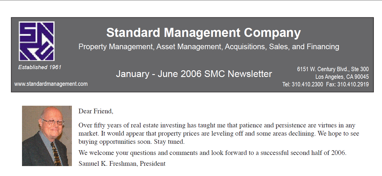 2006 SMC Newsletter