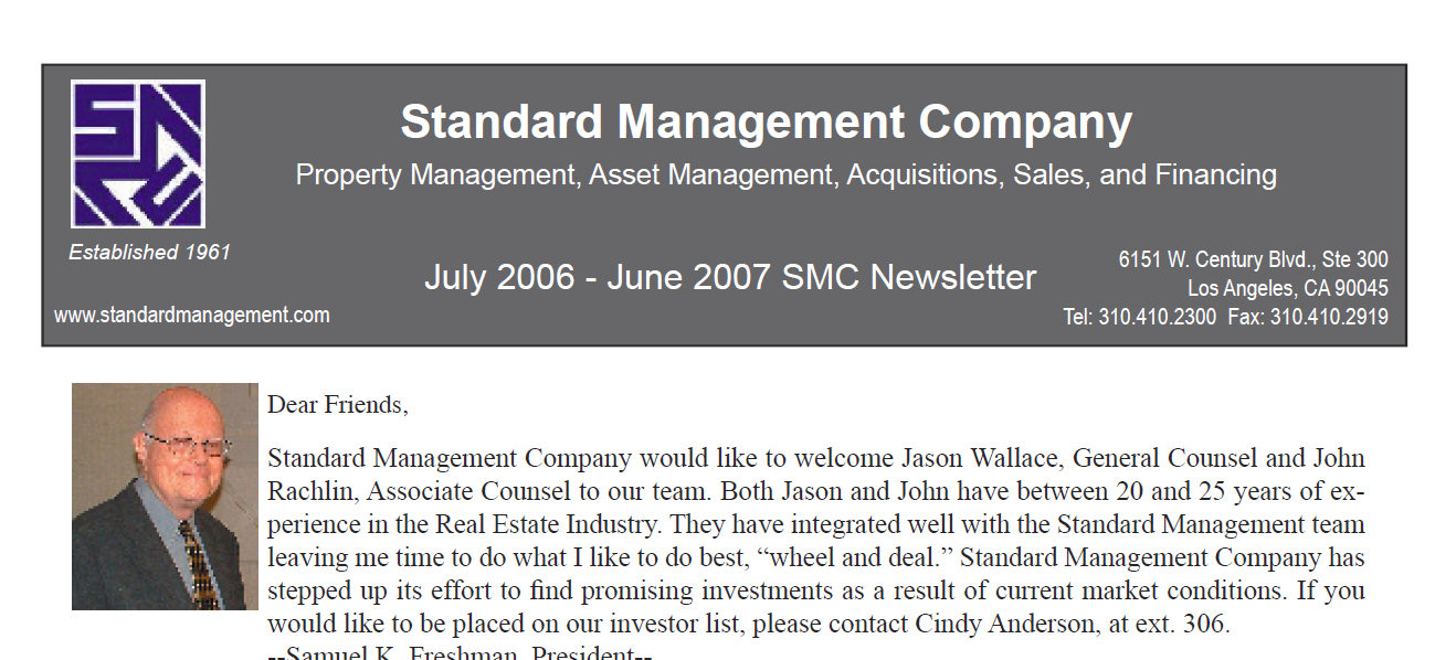 2007 SMC Newsletter